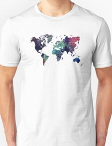 Map world art after Ice age T-Shirt
