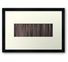 Moviebarcode: Die Hard: With a Vengeance (1995) Framed Print