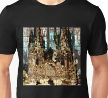 LICHFIELD CATHEDRAL ABSTRACT Unisex T-Shirt