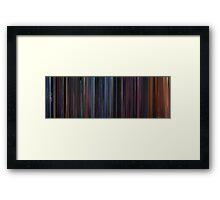 Moviebarcode: Star Trek III: The Search for Spock (1984) Framed Print