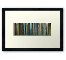 Moviebarcode: Samsara (2011) Framed Print