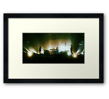 The xx Framed Print