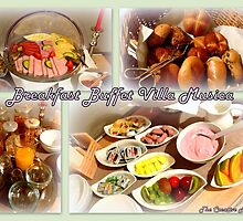 Breakfast Buffet Villa Musica by ©The Creative  Minds