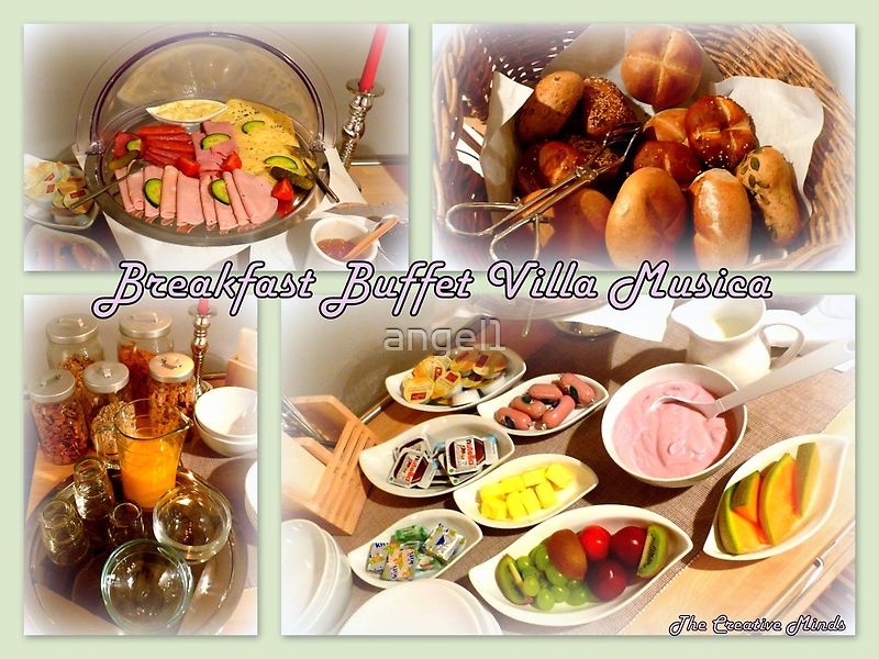 Breakfast Buffet Villa Musica by ©The Creative  Minds