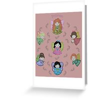 Little angels Greeting Card