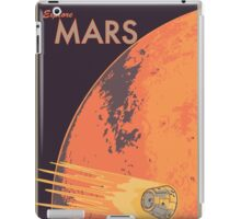 Explore Mars Travel Poster iPad Case/Skin
