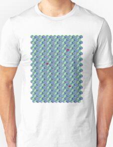 3D Geometric patterns - Colorful cube pattern Unisex T-Shirt