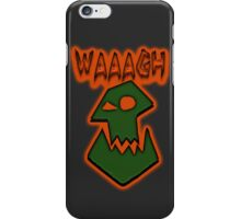 Ork Attack WAAAGH! iPhone Case/Skin