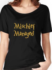 Mischief Managed Shirt Women's Relaxed Fit T-Shirt