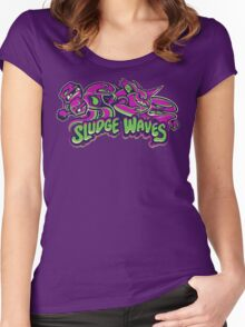Poison Types - Sludge Waves Women's Fitted Scoop T-Shirt