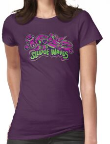 Poison Types - Sludge Waves Womens Fitted T-Shirt