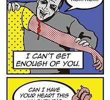 zombie valentine by madebymaryellen