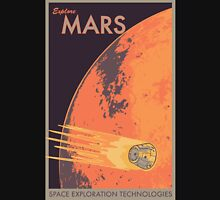 Explore Mars Travel Poster Unisex T-Shirt