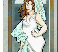 Donna Noble ArtNerdveau Sticker