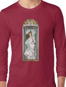 Donna Noble ArtNerdveau Long Sleeve T-Shirt