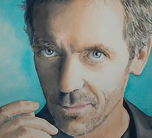 Hugh Laurie by AlineGason Aline