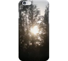 Sunset illustration oil paint iPhone Case/Skin