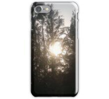 Sunset illustration oil paint iPhone Case/Skin