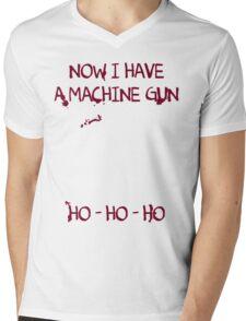 Die Hard: Now I have a machine gun Ho Ho Ho Mens V-Neck T-Shirt