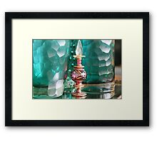 Studies in glass ..juxtaposed Framed Print