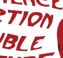 Science Fiction Double Feature Sticker