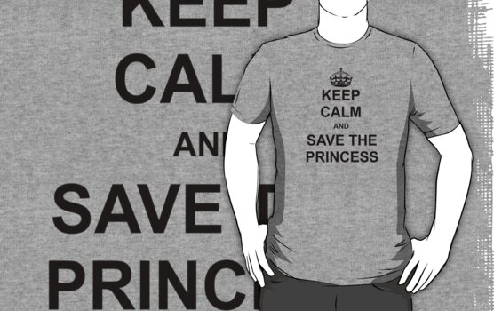 Keep Calm and Save The Princess by BrotherDeus