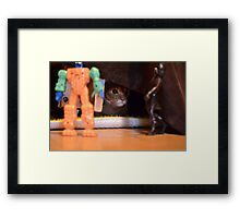 Just Someone's Toys Framed Print