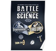Battle for Science - V2 Poster