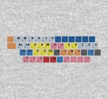 Avid Keyboard One Piece - Long Sleeve