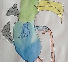 Rooster Barnard Takes His Sunday Walk On A Monday by pinkyjainpan