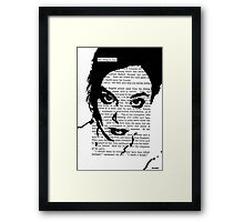 One Thing is Clear Framed Print
