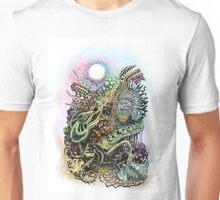 Cuttlefish memories surreal abstraction Unisex T-Shirt