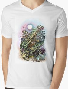 Cuttlefish memories surreal abstraction Mens V-Neck T-Shirt