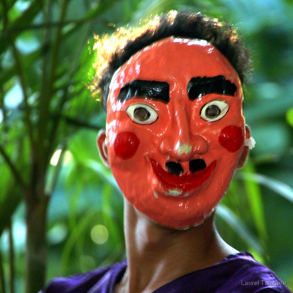 Masked Dancer by Laurel Talabere