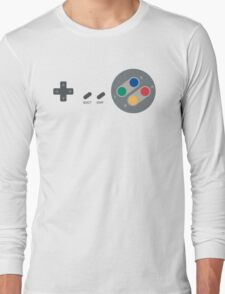 SNES Pad Long Sleeve T-Shirt