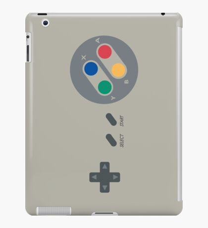 SNES Pad iPad Case/Skin