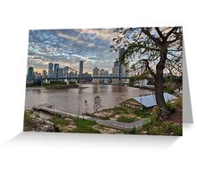 Brisbane • Queensland Greeting Card