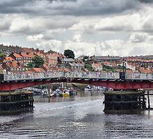 Whitby Bridge by Maria Tzamtzi
