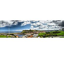 Whitby Panorama Photographic Print