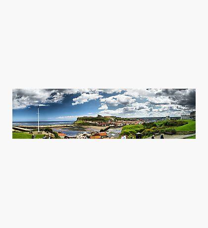 Whitby Panorama Photographic Print