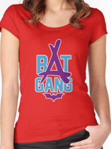 Kid Ink - Bat Gang Logo Women's Fitted Scoop T-Shirt