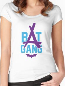 Kid Ink - Bat Gang Logo Women's Fitted Scoop T-Shirt