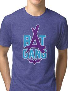 Kid Ink - Bat Gang Logo Tri-blend T-Shirt