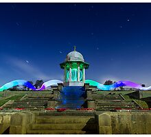 chattri monument light painting 1 by martbarras