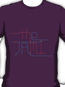 THE JAM Tube Map  T-Shirt