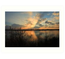 A Yare River Sunset Art Print