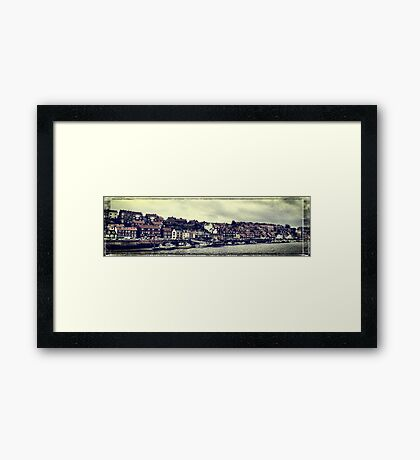 Whitby panorama Framed Print