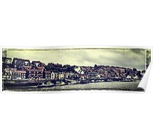 Whitby panorama Poster