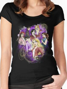 Once Upon a Princess Women's Fitted Scoop T-Shirt