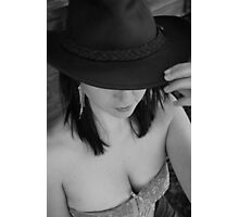 Hat and corset  Photographic Print